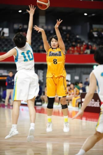 女子1回戦:東海大学付属福岡vs札幌山の手