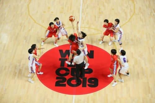 女子1回戦:県立熊本商業vs東海大付属諏訪