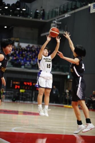 女子1回戦:県立佐賀北vsアレセイア湘南